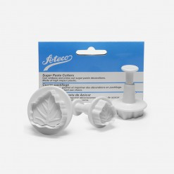 Ateco Wide Leaf Gum Paste and Pie Crust Cutter | WCCC | World Class Concepts Corp