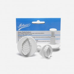 Ateco Thin Leaf Gum Paste and Pie Crust Cutter | WCCC | World Class Concepts Corp