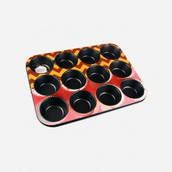 12 Holes Muffin Pan Round | World Class Concepts Corp | WCCC
