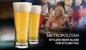 Metropolitan Beer Glass | World Class Concepts Corp | WCCC
