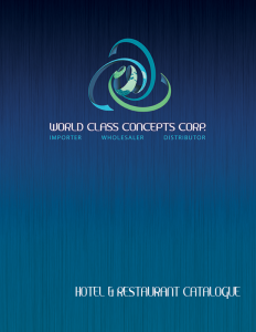 WCCC Hotel and Restaurant Supplier