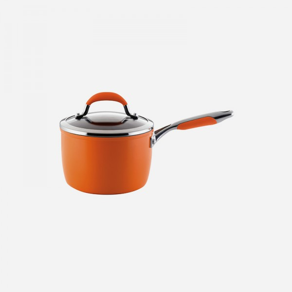 12697 16cm sauce pan orange appetite