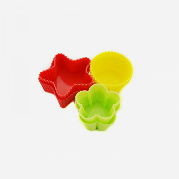 59323 6-piece Silicone Muffin Molds