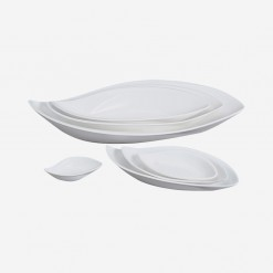 Fairway Willow Leaf Plate | WCCC