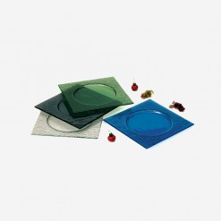 Fairway Square Glass Plates | WCCC