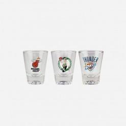 NBA Solo Shot Glass Miami Heat Boston Celtics OKC Thunder | WCCC