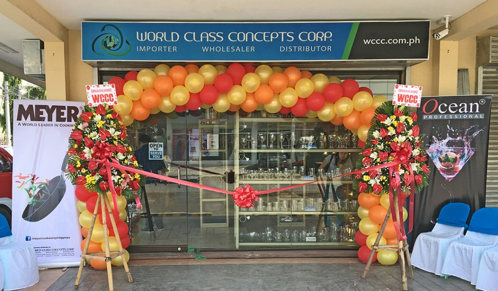 World Class Concepts Davao Showroom Front WCCC