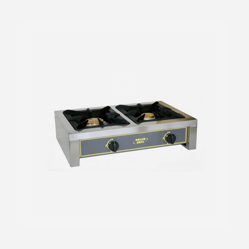 Roller Grill 2 Burner Gas Stove World Class Concepts