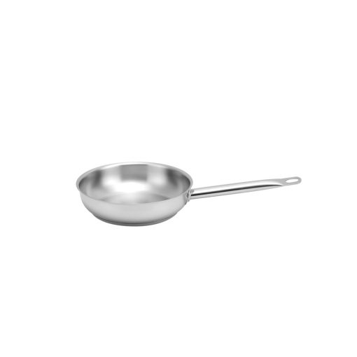 Stainless Steel Open Frypan 24 cm - SSI-240